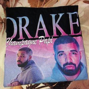 Tops - Black Drake T-Shirt